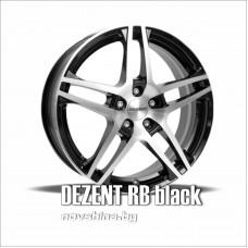 DEZENT RB (цвет: черный глянец) // 6,5x15 5x112 / диск литой