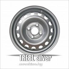 TREBL 8114T (цвет: серебро) 6,0х15 4х100 ET48 D54,1